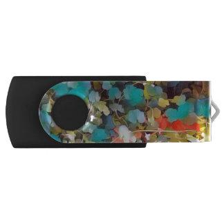 Waldboden verlässt Fantasie USB Stick