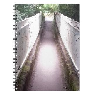 Waldbrücke Spiral Notizblock