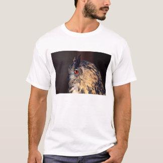 WaldEagle-Eule, Bubo Bubo, gebürtig zu Eurasien T-Shirt