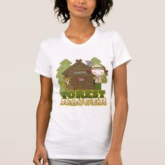 Waldförster - brünettes Mädchen T-Shirt