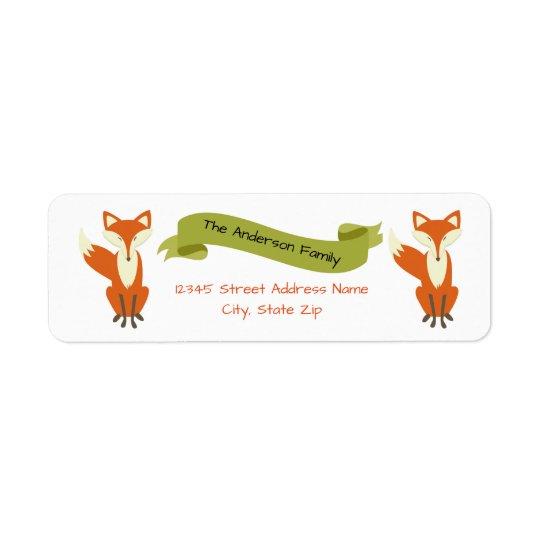 WaldFox - Adressen-Etiketten