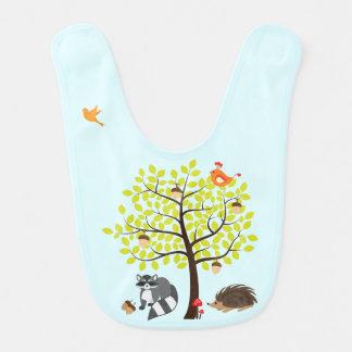 Waldfreund-Natur-Picknick-Baby-Schellfisch Babylätzchen