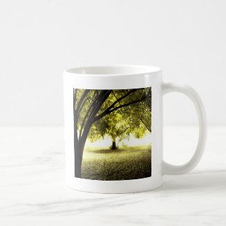 Waldgespenstischer Sonnenschein Tee Tassen