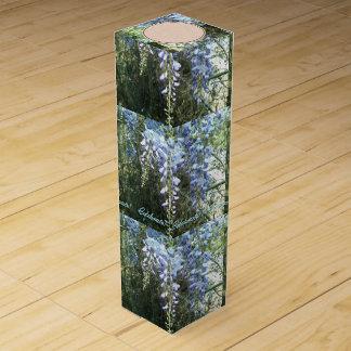 WaldGlyzinie-Blumennatur botanisch Weinbox
