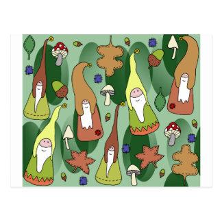 WaldGnomes Postkarte