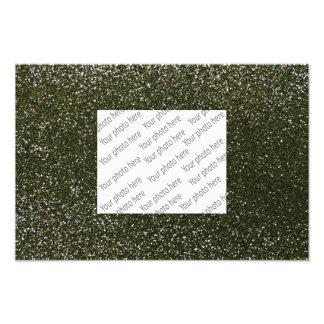 Waldgrün-Glitter Photo