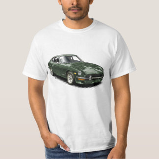 Waldgrün Vintages klassisches Z-Car-T-Shirt T-Shirt