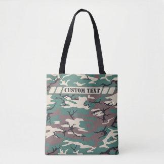Waldgrüne Camouflage-Tasche mit kundenspezifischem Tasche