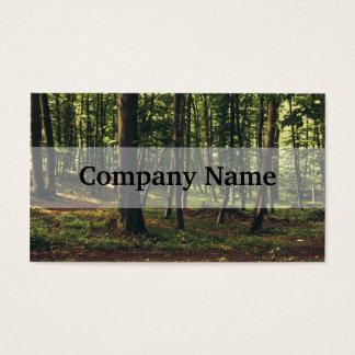 Waldphotographie, Natur-Landschaftsphotographie Visitenkarte