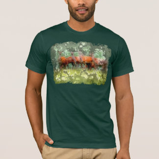 Waldrotwild-T-Shirt T-Shirt