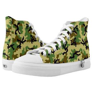Waldtarnung Hoch-geschnittene Sneaker