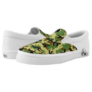 Waldtarnung Slip-On Sneaker