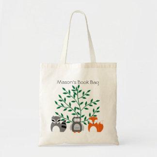 Waldtier-personalisierte Taschen-Tasche Tragetasche