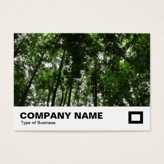 Waldüberdachung Visitenkarte
