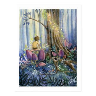 WaldWhisperings Postkarte