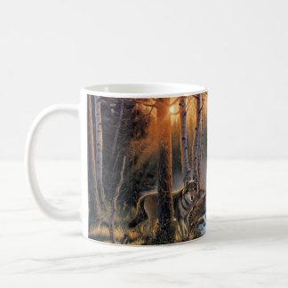 Waldwolf-Klassiker-Tasse Kaffeetasse