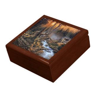 Waldwölfetrinket-Kasten Geschenkbox