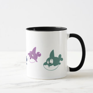 Wale auf Parade-Tasse Tasse