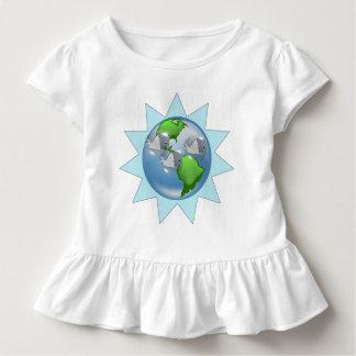 Wale für Erdtag mit Sternexplosion Kleinkind T-shirt
