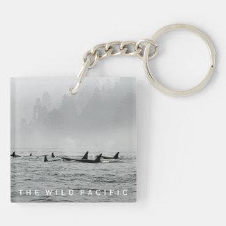 Wale Keychain führen Schlüsselanhänger