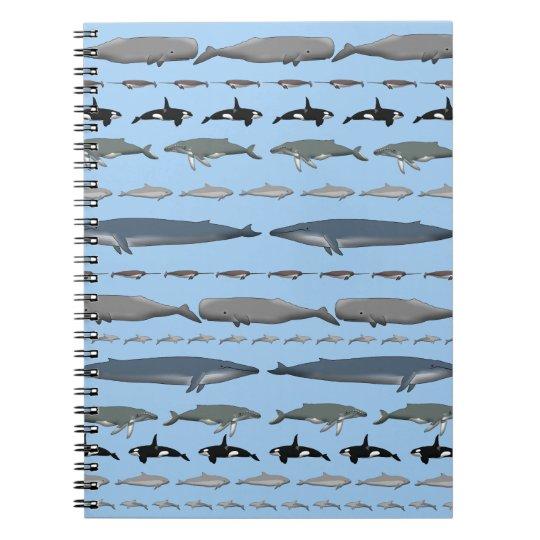 Wale Spiral Notizblock