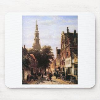 Walenkerk Haarlem durch Cornelis-Springer Mousepad