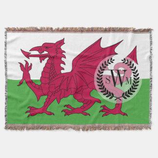 Wales-Flagge Decke