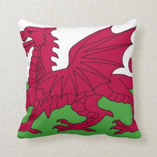 Wales-Flagge Kissen