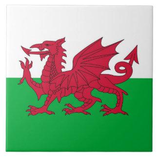 Wales-Flaggen-Fliese Keramikfliese