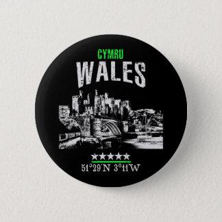Wales Runder Button 5,7 Cm