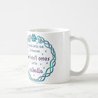 Walhall-Mädchen Kaffeetasse
