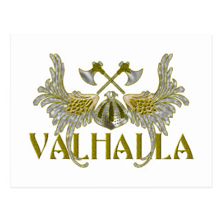 Walhall Postkarte