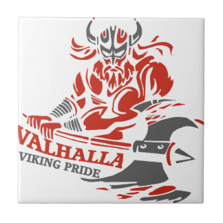 Walhall - Viking-Stolz - Fliese