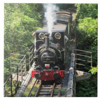 Waliser-Dampf-Zug Fliese