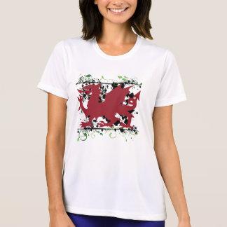 Waliser-Drache Ladys Mikrofaser-T - Shirt