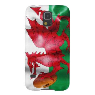 Waliser-Drache-Rugbyball-Flagge Samsung Galaxy S5 Hülle