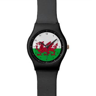 Waliser-Dracheflaggenuhr Uhr