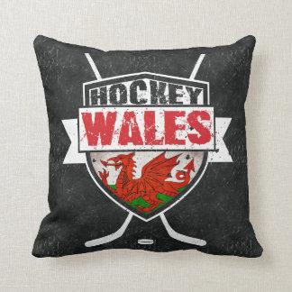 Waliser-Eis-Hockey-Kissen, Wales-Flagge Kissen