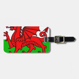 Waliser-Flagge Gepäckanhänger