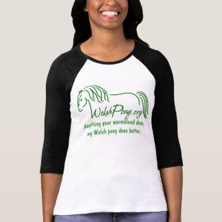 Waliser-Pony u. Pfeiler-Gesellschaft von Amerika T-Shirt