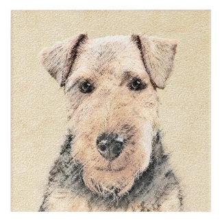 Waliser Terrier Acryldruck