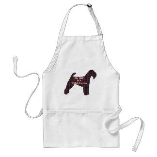 Waliser-Terrier BESTE FREUNDIN Geschenke Schürze