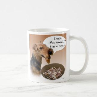 Waliser Terrier die Türkei Kaffeetasse