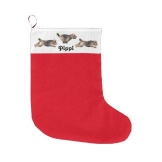 Waliser-Terrier-Feiertags-Strumpf Großer Weihnachtsstrumpf