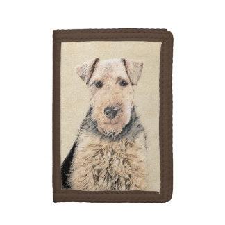 Waliser-Terrier-Malerei - niedliche ursprüngliche