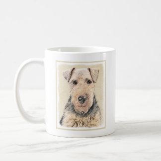 Waliser-Terrier-Malerei - niedliche ursprüngliche Kaffeetasse