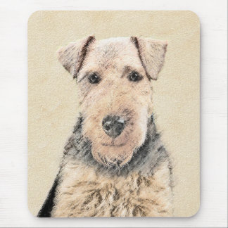 Waliser-Terrier-Malerei - niedliche ursprüngliche Mousepad