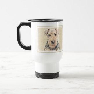 Waliser-Terrier-Malerei - niedliche ursprüngliche Reisebecher