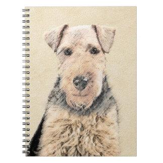 Waliser Terrier Notizblock