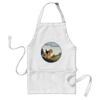 Waliser-Terrier Schürze